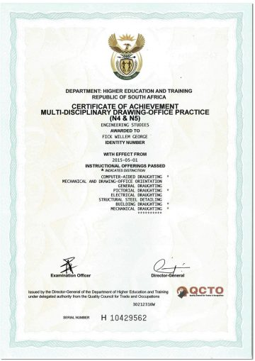 National And International Cad Certificates Academy Idt